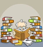 Book Reader Royalty Free Stock Photography