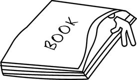 Book reader Stock Image