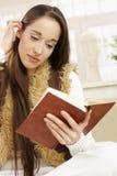 book reading woman Стоковая Фотография