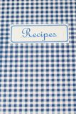 The book of recipes Royalty Free Stock Photos