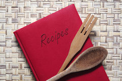 Book of recipes Royalty Free Stock Images