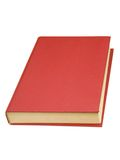 Book with red cover Stock Photography