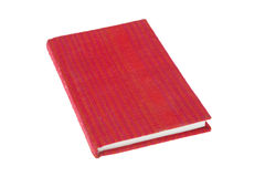 Book red cover fabric Stock Photography