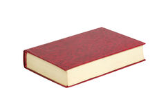 Book. Red book isolated on white background Royalty Free Stock Images