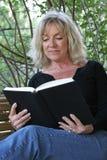 book relaxing Στοκ Εικόνες