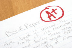 Book Report Stock Photography