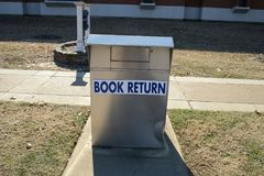 Book Return for overdue books Royalty Free Stock Photos