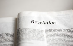 Book of Revelation Stock Photo
