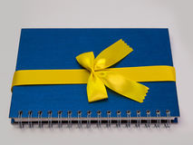 Book, ribbon bow Royalty Free Stock Images