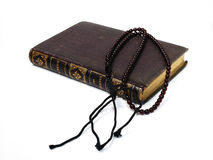 Book with Rosary Royalty Free Stock Photography