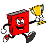 Book Running with Trophy Stock Photography