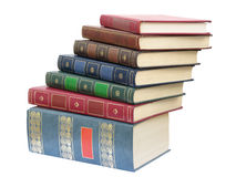 Book's pile royalty free stock photos