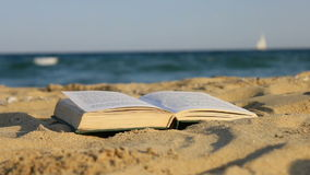 Book of sand stock footage