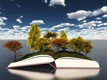 Book of seasons Stock Photography