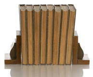 Book series with book ends Stock Photos