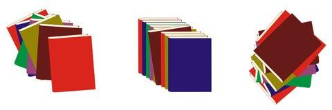 Book set stock illustration