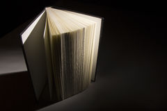 Book in the Shadows Royalty Free Stock Photo