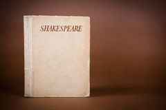 Book by Shakespeare royalty free stock images