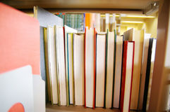 Book shelf Royalty Free Stock Photography