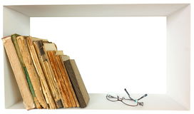 Book shelf  Royalty Free Stock Photo