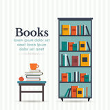 Book shelf Stock Photography