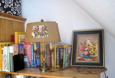 Book Shelf. Antique design Royalty Free Stock Photography