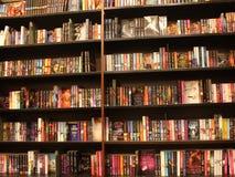 Book shelf of Romance Novels Stock Photography