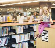 On book shelf royalty free stock photography