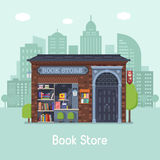 Book Shop Concept Banner Royalty Free Stock Photo