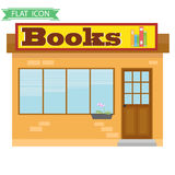 Book Shop. Flat design, illustration royalty free illustration