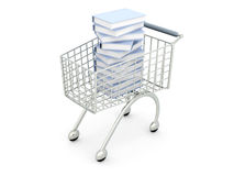 Book Shopping Royalty Free Stock Photos