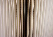 book sidor Fotografering för Bildbyråer
