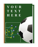 Book soccer royalty free illustration