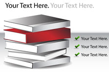 Book Stack. An image of a Book Stack Royalty Free Stock Images