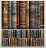 Book stack background. New book stacks color background, vector illustration Royalty Free Stock Photography