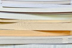 Book stack close up Royalty Free Stock Image