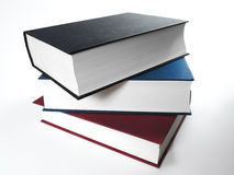Book stack, close up Royalty Free Stock Photography