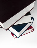 Book stack, close up Stock Images