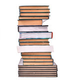 Book Stack Isolated Stock Image