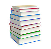 Book stacked Stock Photography