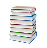 Book stacked Stock Photo