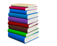 Book stacked Royalty Free Stock Photos