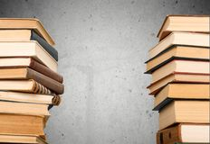 Book Stacks Royalty Free Stock Photography