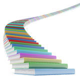 Book stair. Isolated on a white background royalty free illustration