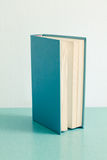 Book standing on table Royalty Free Stock Photography