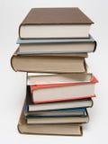 book stapeln arkivfoto