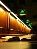 Book in the state library of Victoria Royalty Free Stock Photo