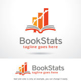Book Stats Pack Logo Template Design Vector