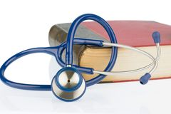 Book and stethoscope, Stock Photography