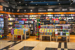 Book Store. Bookstore with various genre and title of books. Photo was taken on 07 February 2013 Stock Images